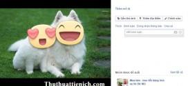 Hướng dẫn cách chèn, thêm nhãn dán vào ảnh tải lên Facebook