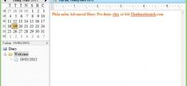 Tải Advanced Diary Pro Full Crack – Phần mềm viết nhật ký