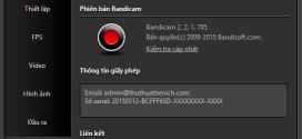 Tải Bandicam Full Crack – Phần mềm quay video, ghi âm, chụp ảnh màn hình