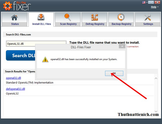 Hướng dẫn sử dụng phần mềm DLL-Files Fixer sửa lỗi thiếu file *.DLL