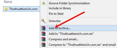 Hướng dẫn cài đặt Recovery Record cho file nén RAR, ZIP bằng phần mềm Winrar
