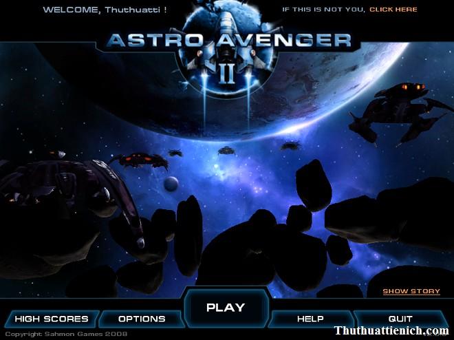 Game Astro Avenger 2- Game bắn máy bay