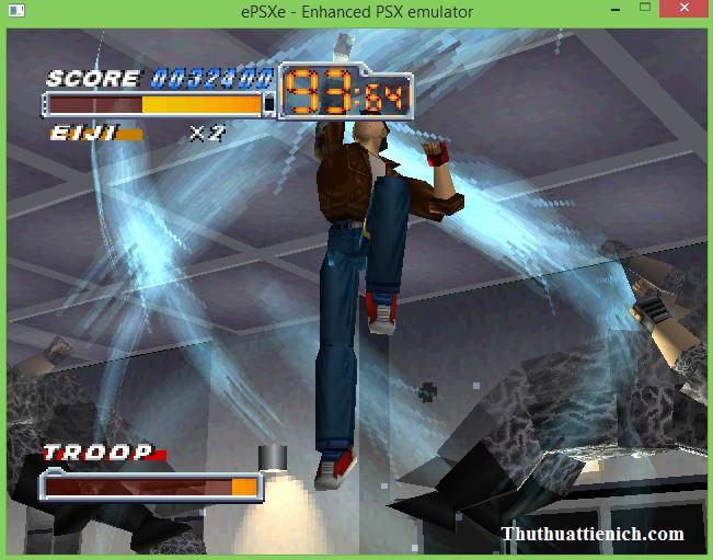 Game Cảnh sát hoàng gia 1 - Crisis Beat 1 giả lập SP1