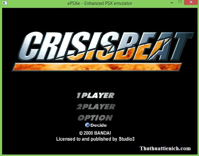 Game Cảnh sát hoàng gia 1 - Crisis Beat 1