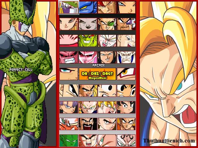 Game Dragon Ball Z Mugen 2012 Offline PC