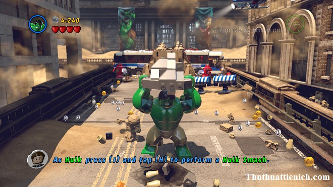 Game Lego Marvel Super Heroes Offline PC