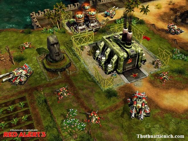 Game Red Alert 3 Offline PC