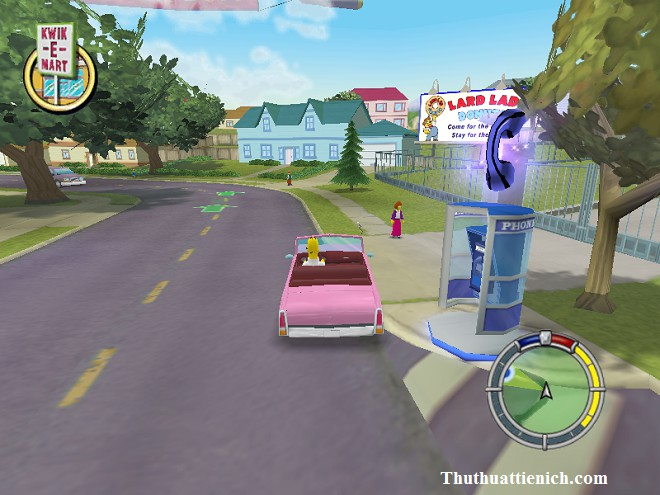 Game The Simpsons: Hit & Run Offline PC