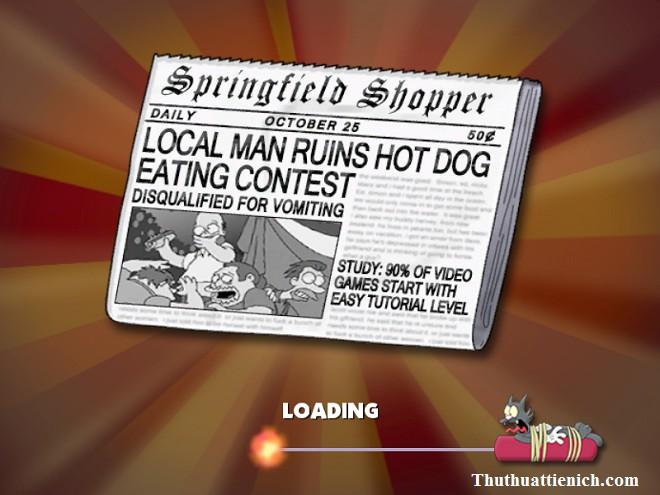 Game The Simpsons: Hit & Run Offline PC