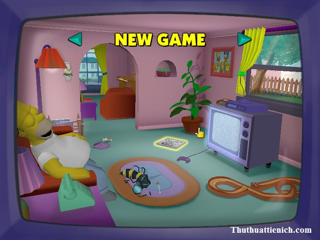 Game The Simpsons: Hit & Run