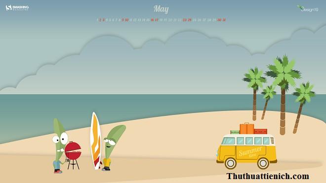 Biển là điểm du lịch hấp dẫn trong tháng 05