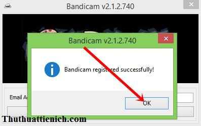 Hướng dẫn cài đặt & Crack phần mềm Bandicam