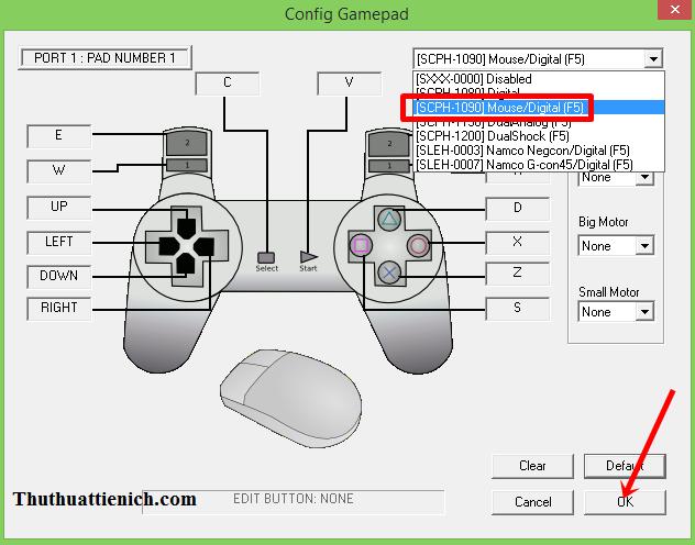 Hướng dẫn cài đặt & thiết lập giả lập PS1 cho game Cảnh sát hoàng gia 1 - Crisis Beat 1