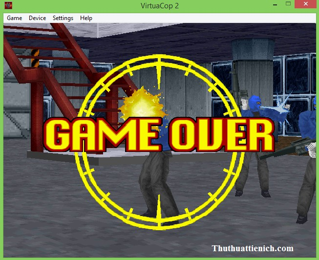 Game Virtua cop 2 (VCop2) Offline PC