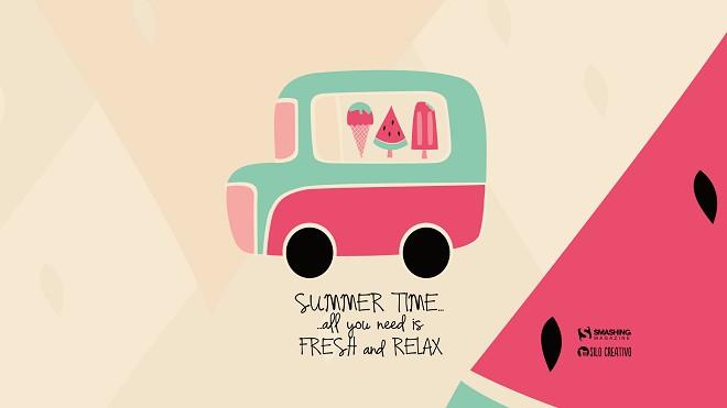 Mùa hè là mùa của nghỉ ngơi và thư giãn
