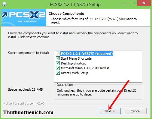 Hướng dẫn cài đặt phần mềm PCSX2
