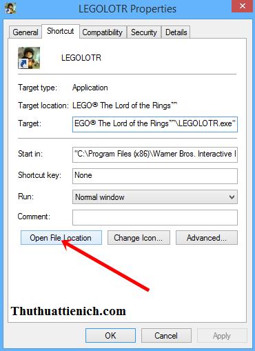 Cách tìm thư mục cài đặt game & phần mềm nhanh nhất