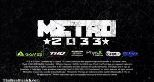 Game Metro 2033