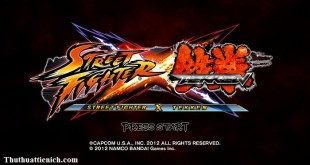 Game Street Fighter X Tekken Full Crack