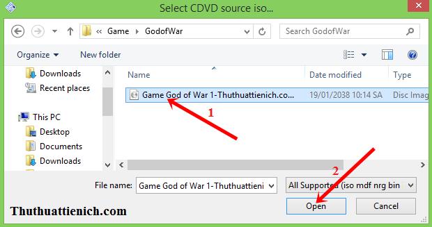 Hướng dẫn cài đặt & chơi game God Of War 1