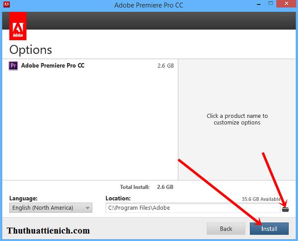 Hướng dẫn cài đặt & Crack phần mềm Adobe Premiere Pro CC
