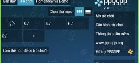 Phần mềm PPSSPP tiếng Việt
