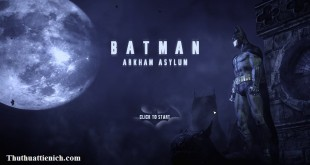 Game Batman: Arkham Asylum Full Crack