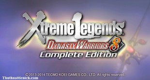 Game Dynasty Warriors 8: Xtreme Legends