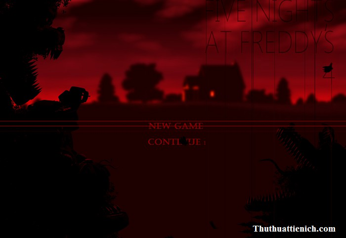 Game Five Nights at Freddys 4 – Game kinh dị