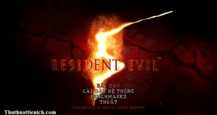 Game Resident Evil 5 Việt hóa