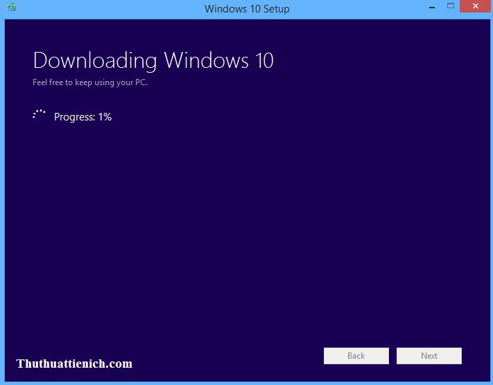 Hướng dẫn tải bộ cài Windows 10 (Pro, Home, Single Language) bằng tool hỗ trợ của Microsoft