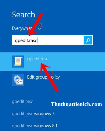 Hướng dẫn bật/tắt phần mềm Windows Defender trên Windows 8/8.1