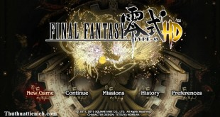 Game Final Fantasy Type-0 HD