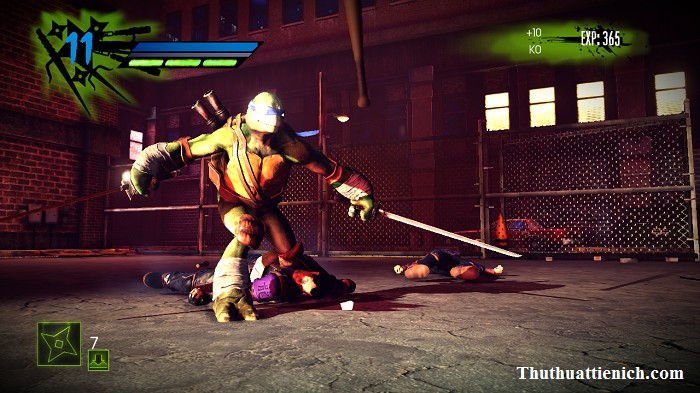 Game Teenage Mutant Ninja Turtles: Out of the Shadows Offline PC