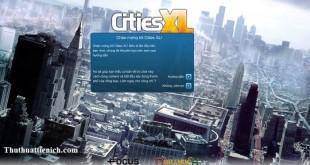 Game Cities XL 2012 Việt hóa
