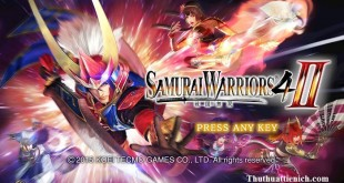 Game Samurai Warriors 4 II