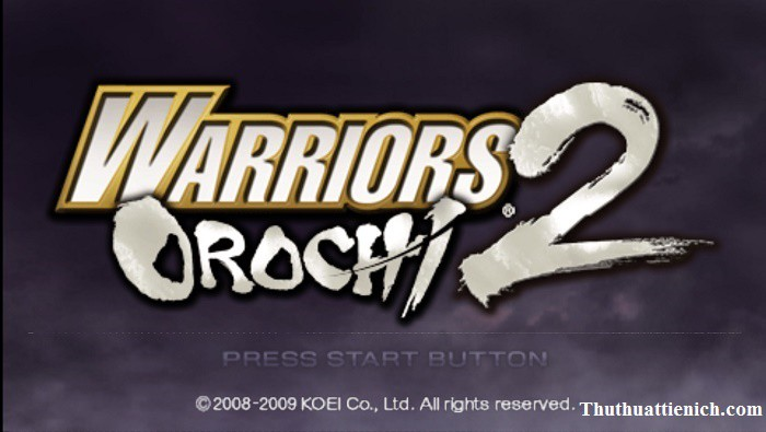 Game Warriors Orochi 2