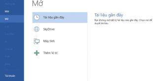 Hướng dẫn cài đặt tiếng Việt cho bộ phần mềm Microsoft Office 2013