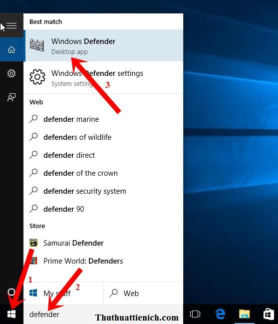 Hướng dẫn bật/tắt phần mềm Windows Defender trên Windows 10 chi tiết bằng hình ảnh