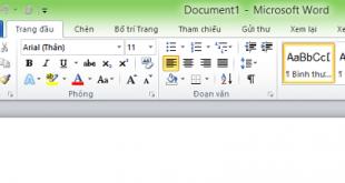 Hướng dẫn cách cài đặt tiếng Việt cho Office 2010
