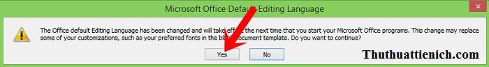 Hướng dẫn cài đặt tiếng Việt cho Microsoft Office 2010