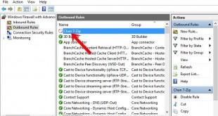 Hướng dẫn chặn Phần mềm & Game truy cập internet trên Windows 10
