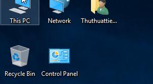 Hướng dẫn bật biểu tượng My Computer trên màn hình Desktop Windows 10