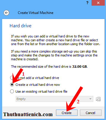 Hướng dẫn cách tạo máy ảo trên máy thật bằng phần mềm VirtualBox