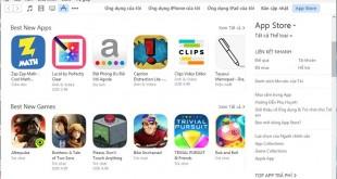 Hướng dẫn cách cài đặt tiếng Việt cho phần mềm iTunes