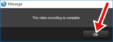 Xuất video làm bằng Proshow Producer