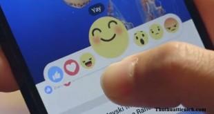 Facebook thử nghiệm nút like mới biết cười, khóc, yêu, giận