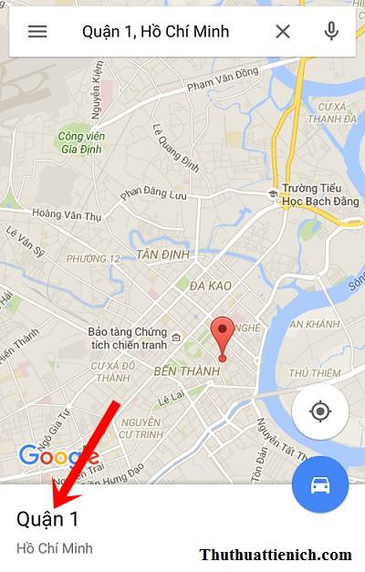 Tạo bản đồ ngoại tuyến với Google maps