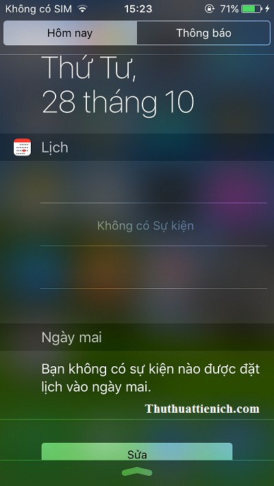 Thông báo chứng khoán trên iPhone/iPad đã biến mất