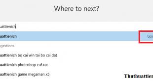 Cách thay đổi công cụ tìm kiếm mặc định trên trình duyệt Microsoft Edge